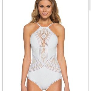 White Becca One Piece Swimsuit